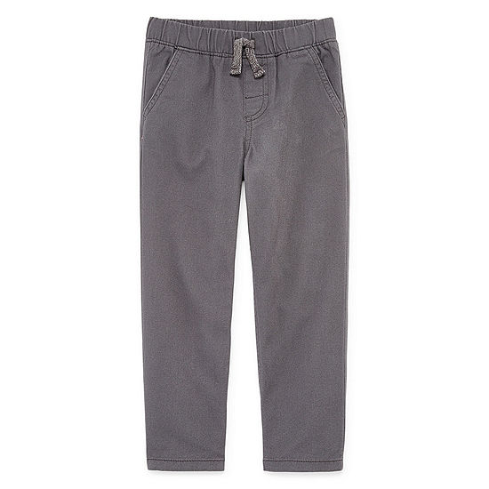 Okie Dokie Boys Straight Pull-On Pants - Toddler