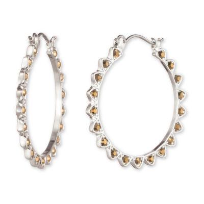 Chaps 30mm Hoop Earrings