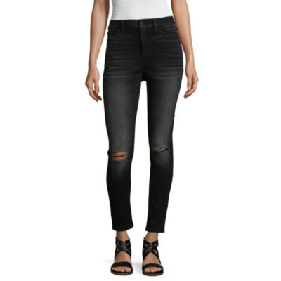 a.n.a Hi-Rise with Knee Slits Skinny Fit Jeggings