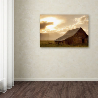 Trademark Fine Art Dan Ballard Mountain Home Giclee Canvas Art