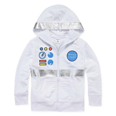 Okie Dokie Space Hoodie-Toddler Boys