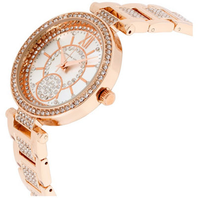 Adrienne Vittadini   Womens Rose Goldtone Bracelet Watch-Adst2618r679-524