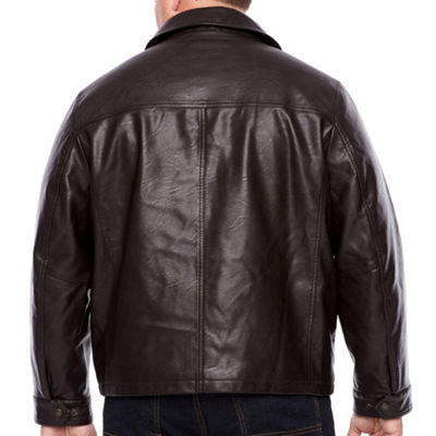 Dockers Faux Leather Jacket Big and Tall