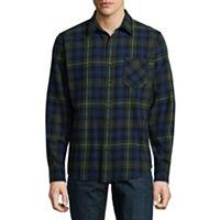 Deals on Arizona Long Sleeve Spread Collar Flannel Shirts