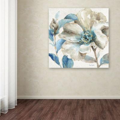 Trademark Fine Art Lisa Audit Indigold IV Giclee Canvas Art