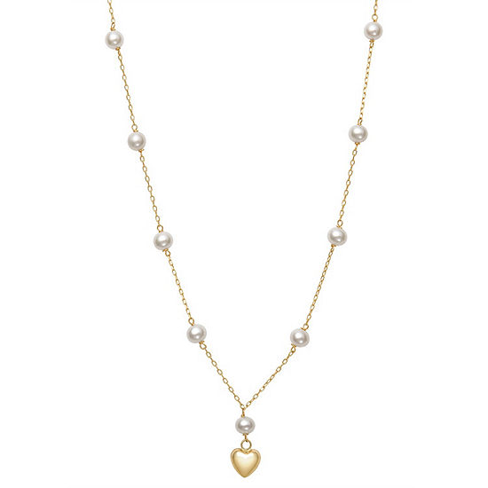 14K Gold 14 Inch Rope Chain Necklace