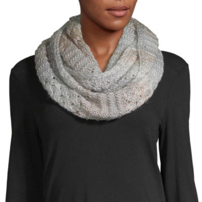 Mixit Lofty Textured Infinity Cold Weather Scarf