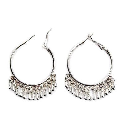 Arizona 41mm Hoop Earrings