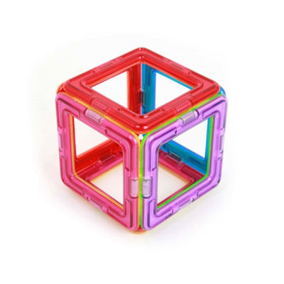 Magformers Squares 6 Piece Magnetic Construction Set