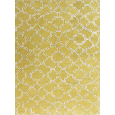 Amer Rugs City AD Hand-Tufted Wool and Viscose Rug