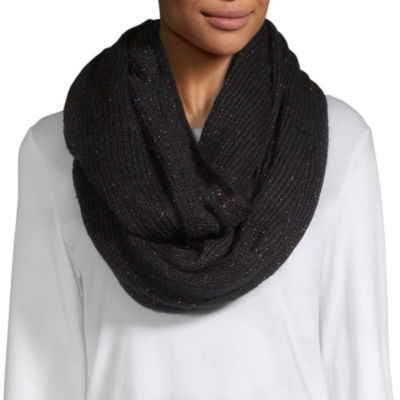 Mixit Lurex Infinity Cold Weather Scarf