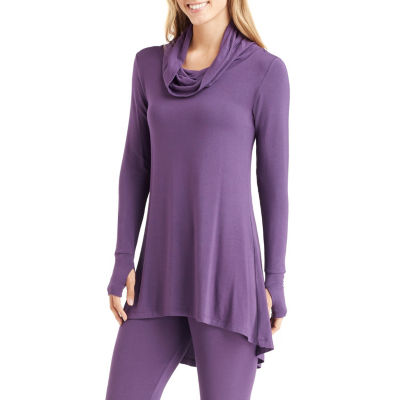 Cuddl Duds® Softwear Long-Sleeve Cowlneck Tunic