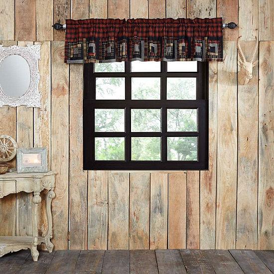 Rustic & Lodge Window Cumberland Patchwork Valance