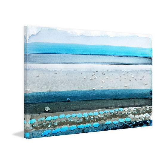 Spiagga Painting Print On Wrapped Canvas