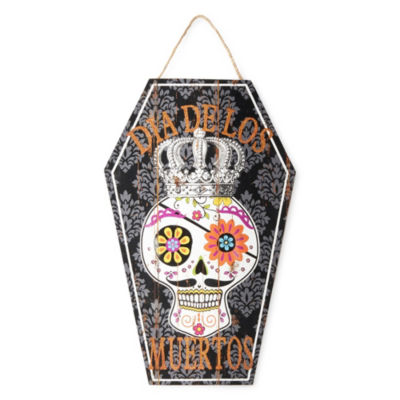 JCPenney Home Day Of The Dead Tomb Wall Decor