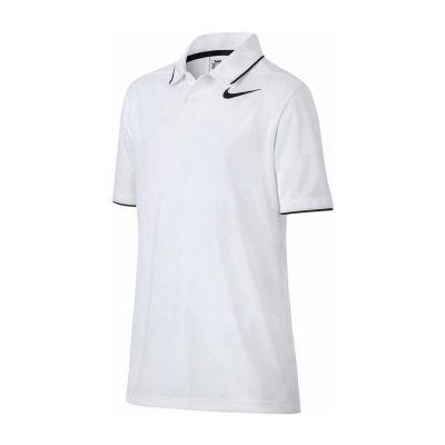 Nike Short Sleeve Golf Polo - Big Kid Boys