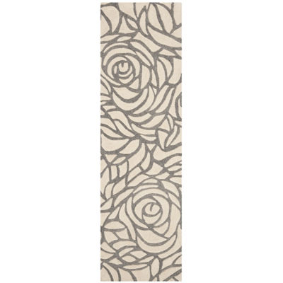 Safavieh Casablanca Collection Karissa Floral Runner Rug