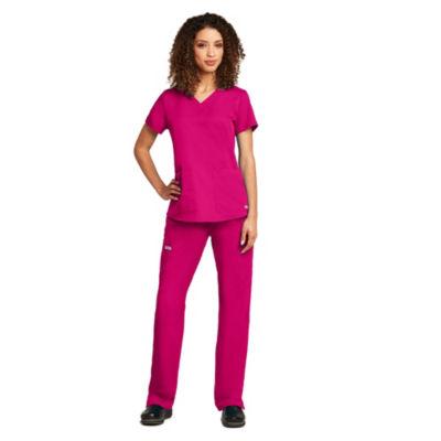 Barco™ Grey's Anatomy Women's 71166 Two Pocket V-Neck Scrub Top with Shirring Back