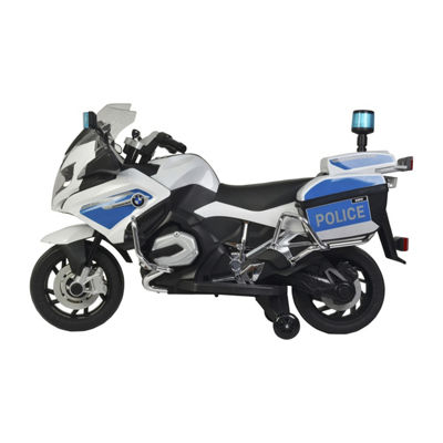 Best Ride On Cars BMW Police Bike 12V Electric Ride On