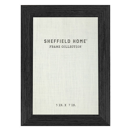 Sheffield Home 5x7 Black Frame 1 Opening Tabletop Frame