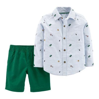 Carter's 2-pack Stripe Pant Set Boys