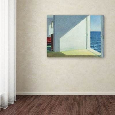Trademark Fine Art Edward Hopper Rooms by the SeaGiclee Canvas Art