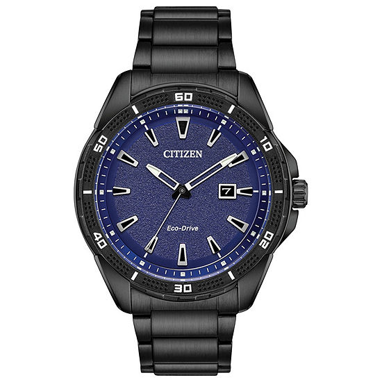 Drive from Citizen Mens Black Stainless Steel Bracelet Watch - Aw1585-55l