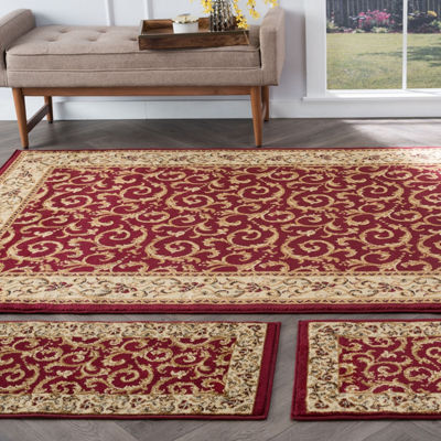Tayse Elegance Westminster 3-pc. Rug Set
