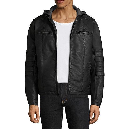 Levi's® Faux Leather Motorcycle Jacket