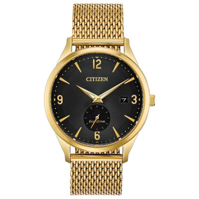 Drive from Citizen Mens Gold Tone Bracelet Watch-Bv1112-56e
