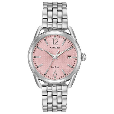 Drive from Citizen Womens Silver Tone Bracelet Watch-Fe6080-71x