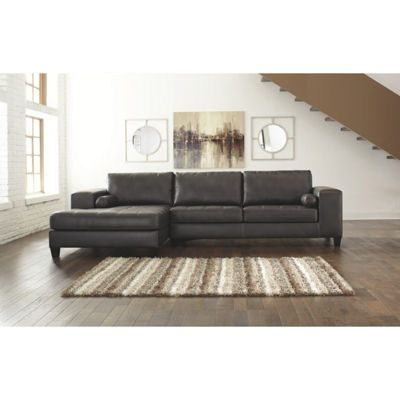 Signature Design by Ashley® 2-Pc Sectional with Left Arm Facing Sofa