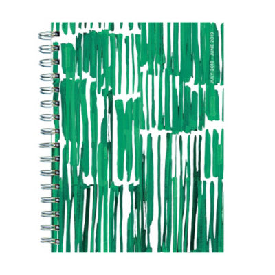 Tf Publishing July 2018 - June 2019 Greenery Medium Weekly Monthly Planner