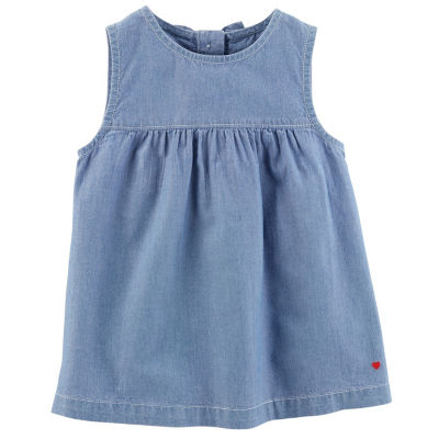 Carter's Chambray Tank Top - Preschool Girls