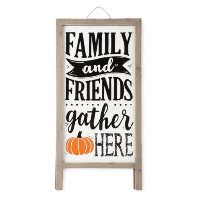 JCPenney Home Family N Friends Porch Easel