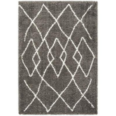 Safavieh Flokati Collection Hildred Geometric Area Rug