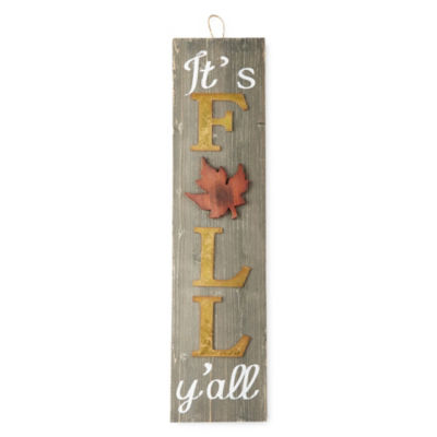 "JCPenney Home "" It's Fall Y'all "" Porch Decor"