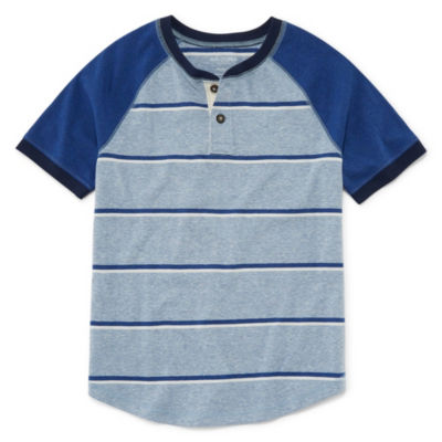 Arizona Short Sleeve Henley Shirt Boys