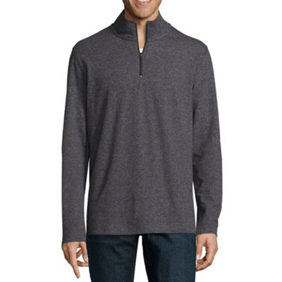 Claiborne Mens Mock Neck Long Sleeve Sweaters