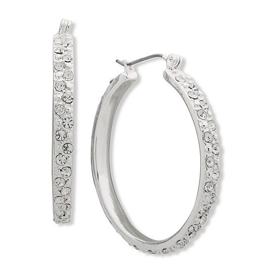 Gloria Vanderbilt 38.1mm Hoop Earrings