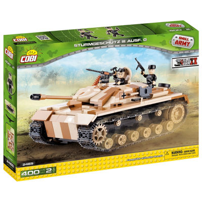 Cobi Small Army Stug Iii Ausf G Construction Blocks Building Kit