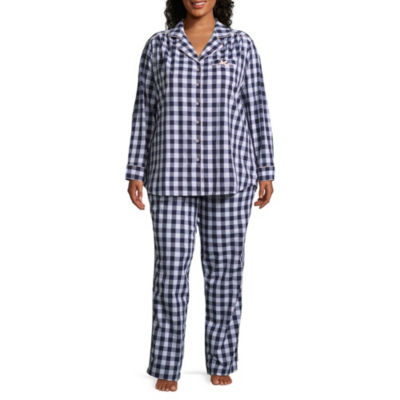 Liz Claiborne 2-pack Pattern Pant Pajama Set-Plus