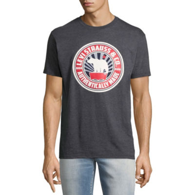 Levi's® Short Sleeve Crew Neck T-Shirt