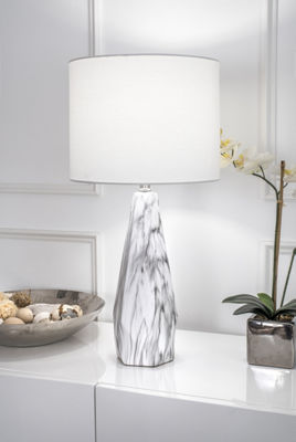 "Watch Hill 25"" Autumn Ceramic Linen Shade Table Lamp"