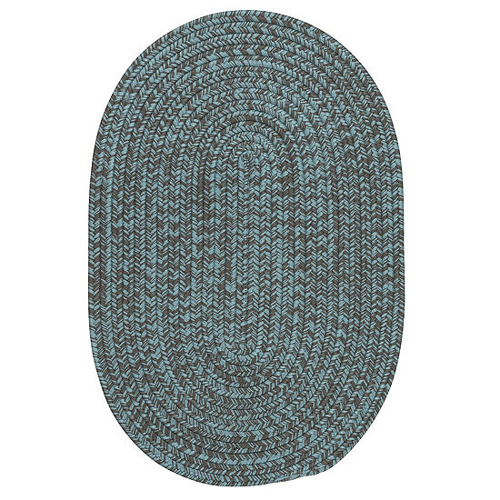 Colonial Mills Anchor Isle Braided Oval Reversible Indoor/Outdoor Rugs