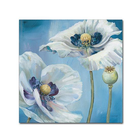 Trademark Fine Art Lisa Audit Blue Dance II GicleeCanvas Art