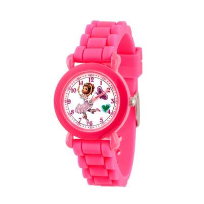 Disney Fancy Nancy Girls Pink Strap Watch-Wds000594