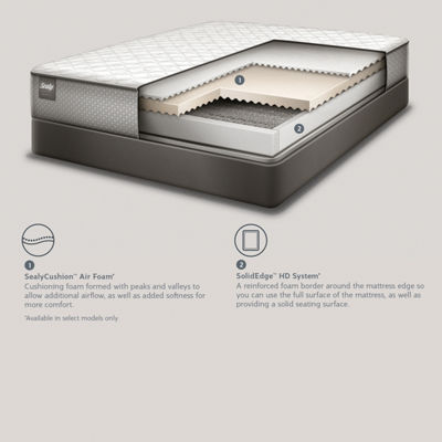 Sealy Golden Meadow LTD Firm - Mattress Only