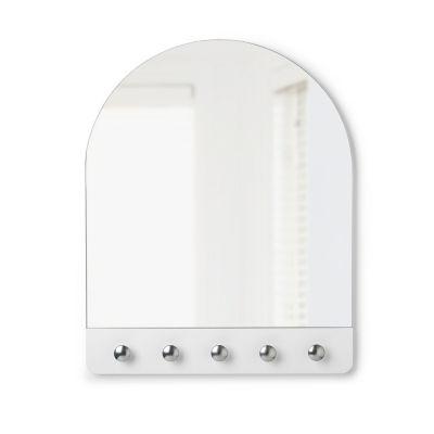 Umbra Peek Mirror White/Nickel Wall Mirror