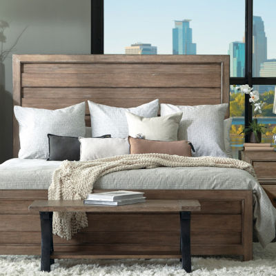 Flatbush High Low Panel California King Bed